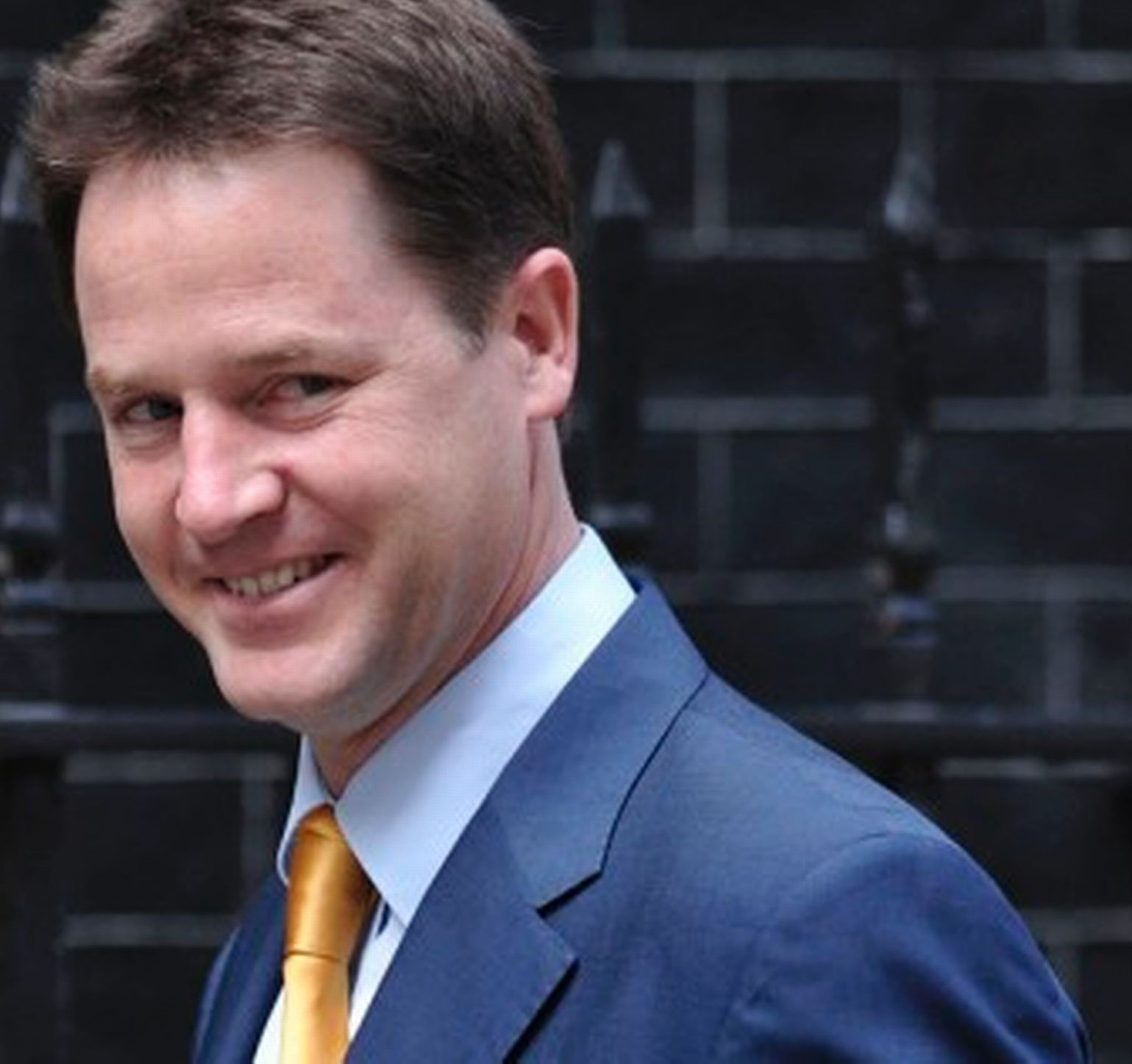 Image result for nick clegg smile